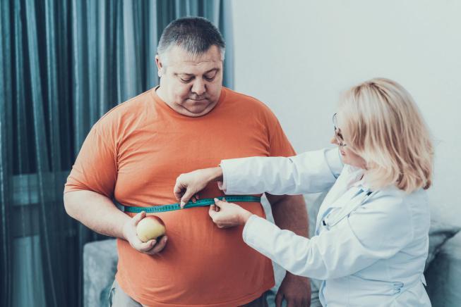 База людей имеющих лишний вес