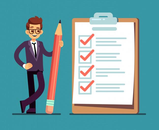Список документов для MBA