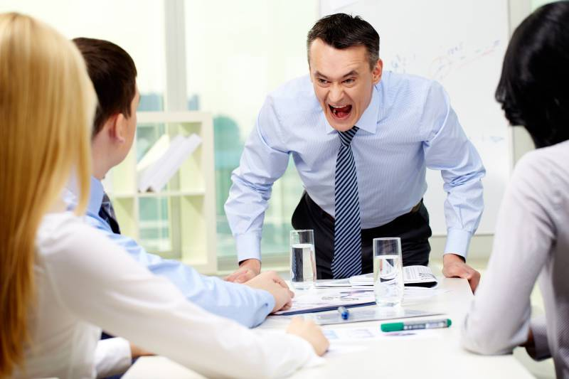 Гнев и лидер
