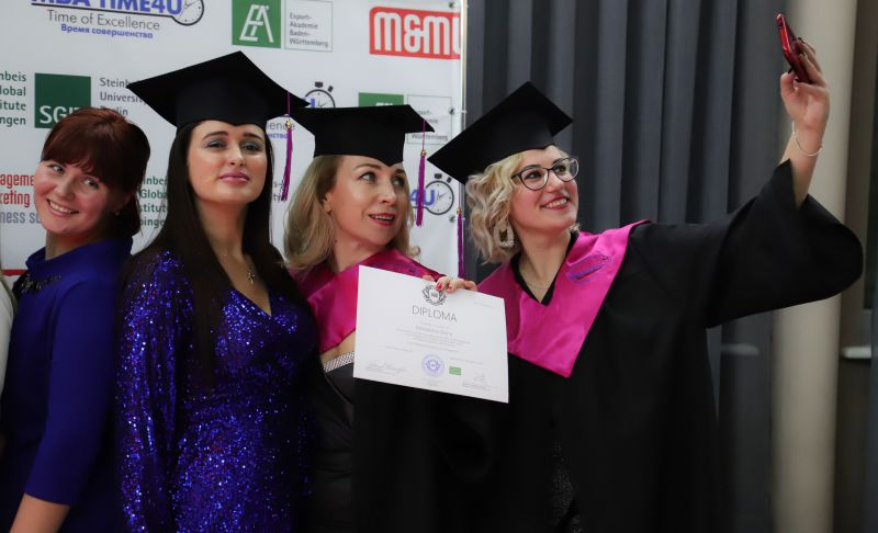 Выпускницы Mini MBA General Management